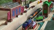 Diesel, Logan, Duck, Rosie, Hank, Nelson