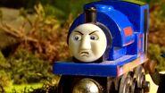 Sir Handel is grumpy
