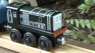 Diesel rolling down the line.