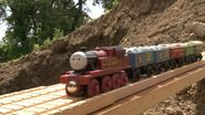 Arthur at the China Clay Works