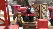 Skarloey with his driver