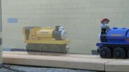 Sir Handel sees a ghost