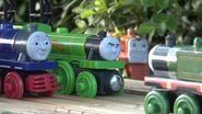 Flying Scotsman, Whiff, and Hank