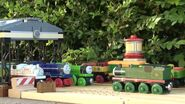 Dart Stanley, Whiff, Scruff, Hank, and the Flying Scotsman