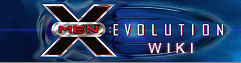 XMen Evolution wordmark