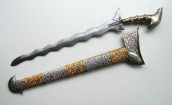 Warlock blade