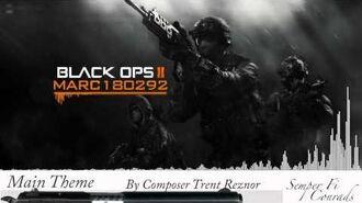 Black Ops 2 Soundtrack Main Theme