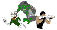 EotU the Animal, the Synthoid, and the Soldier