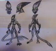 Zeev Xylon Feral form