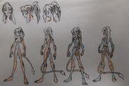 Asia Erisa, anatomy and casual