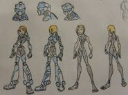 Gwen's SIG Suit and casual suit