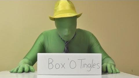 Green Man and the ASMR Box 'O Tingles
