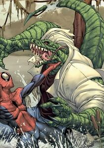 Spider-man-the-lizard