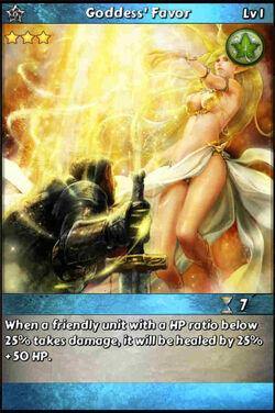 Goddess' Favor