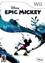 Epic Mickey Wii couverture