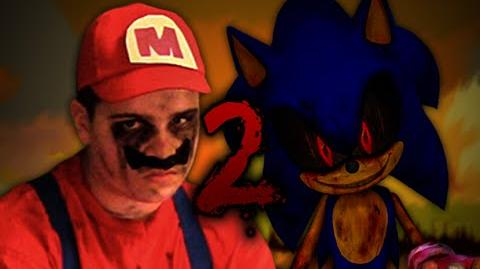 MARIO vs Sonic.exe 2. Epic Rap Battles of Creepypasta Season 2.-1