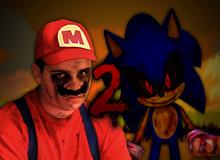 Sonic.EXE vs MARIO 2