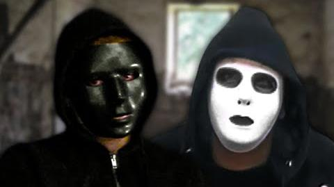 Hoody vs Masky. Epic Rap Battles of Creepypasta 15