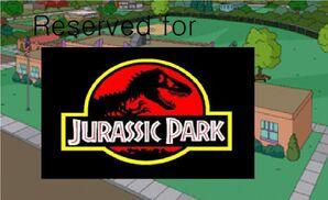 Reserved for jurassic park