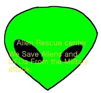 Alien rescue center