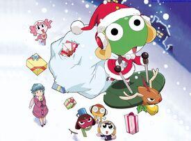 Funny Christmas day. Keroro gunso wallpaper 091