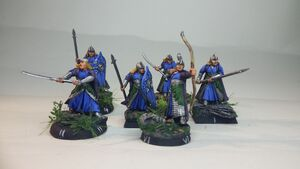 Elf guards knights blue 1-6