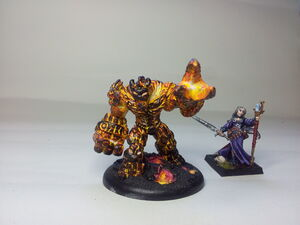 Fire Lava elemental a 2014-04-04 11