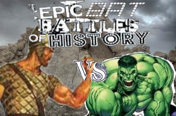 Hulk vs Goliath