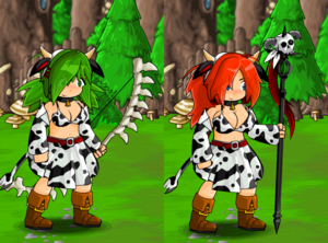 Cow Costume and Cow Horns