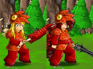 Dragon Armor and Helm