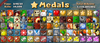 BH2 Medals
