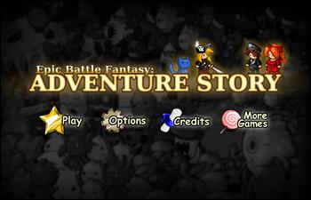 Adventure Story Menu