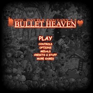 Bullet Heaven Menu