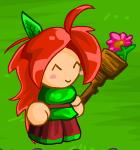 EBF4 Staff Flower Pot Overworld