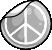Flair Peace Sticker