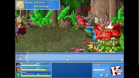 Epic Battle Fantasy 4 - Boss 04 - Rafflesia