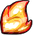 Flair Flame Badge