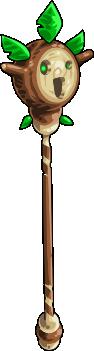 Oak staff