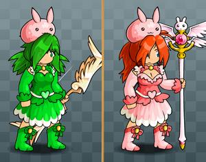 EBF5 Magical Skirt and Slime Bunny