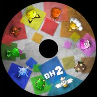 BH2 album disc
