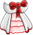 EBF4 Arm White Mage Dress