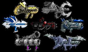 EBF5 Guns Concept Art