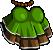 EBF4 Arm Green Dress