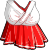 EBF4 Arm Shrine Maiden Dress