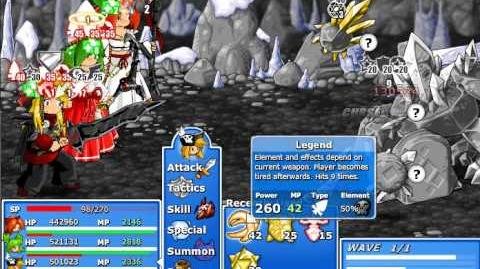 Epic Battle Fantasy 4 - Diamond Golem (Epic Mode)