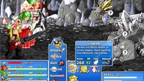 Epic Battle Fantasy 4 - Diamond Golem (Epic Mode)