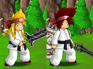 Karate Gi and Headband