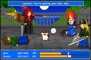 FF Battle 2 Screenie by kupo707