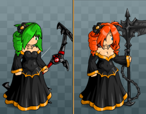 EBF5 Spider Gown and Bobble