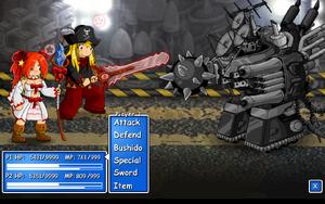 EBF1 Boss Fight - Mecha